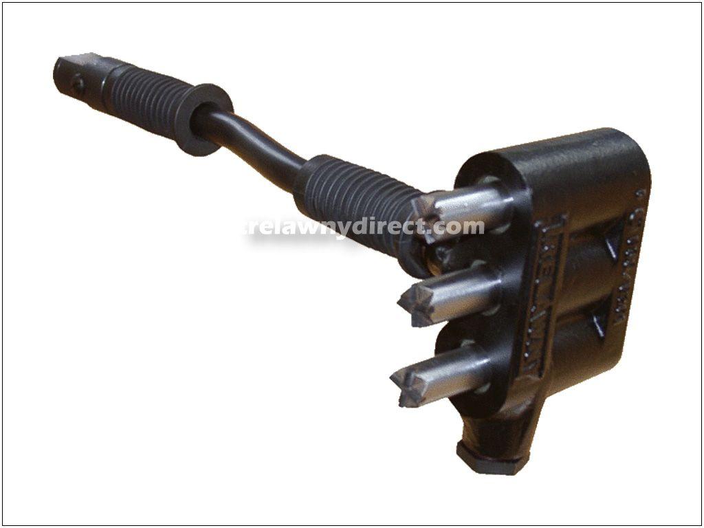 Trelawny 153.5200 Heavy Duty Triple Headed Scabbling Hammer (Cruciform Version)