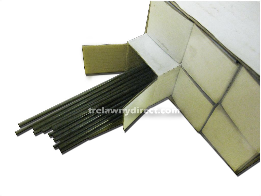 Trelawny 6 Sets of 65 x 2mm Flat Tip Needles for 3B / 3BPG Needle Scalers 412.1165