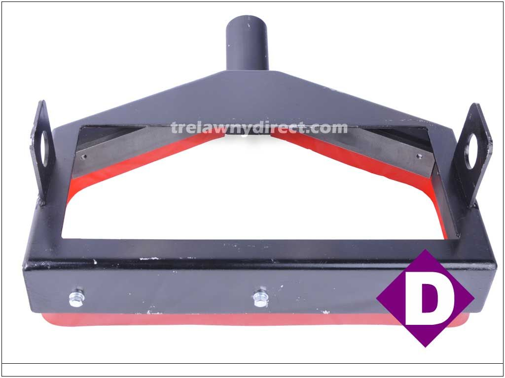 Trelawny TVS (Trelawny Vacuum System) Dust Shroud for SF11 Deck Scaler