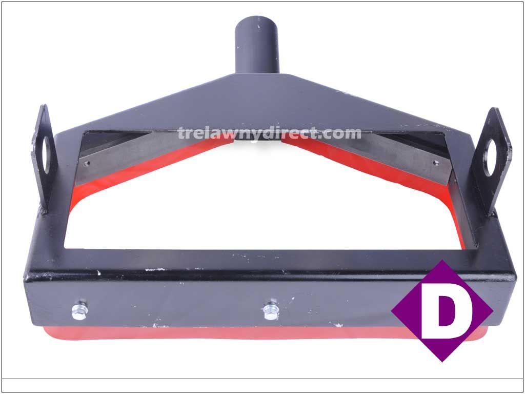Trelawny TVS (Trelawny Vacuum System) Dust Shroud for SF11 Deck Scaler