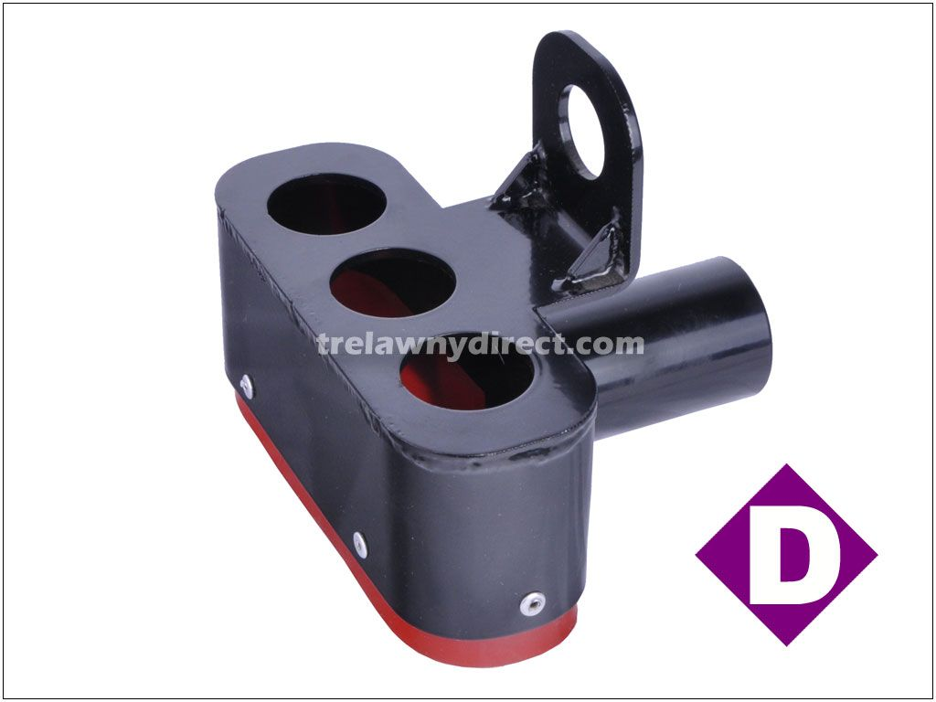 Trelawny 437.5300 TVS (Trelawny Vacuum System) Dust Shroud for Triple Head Scabbler