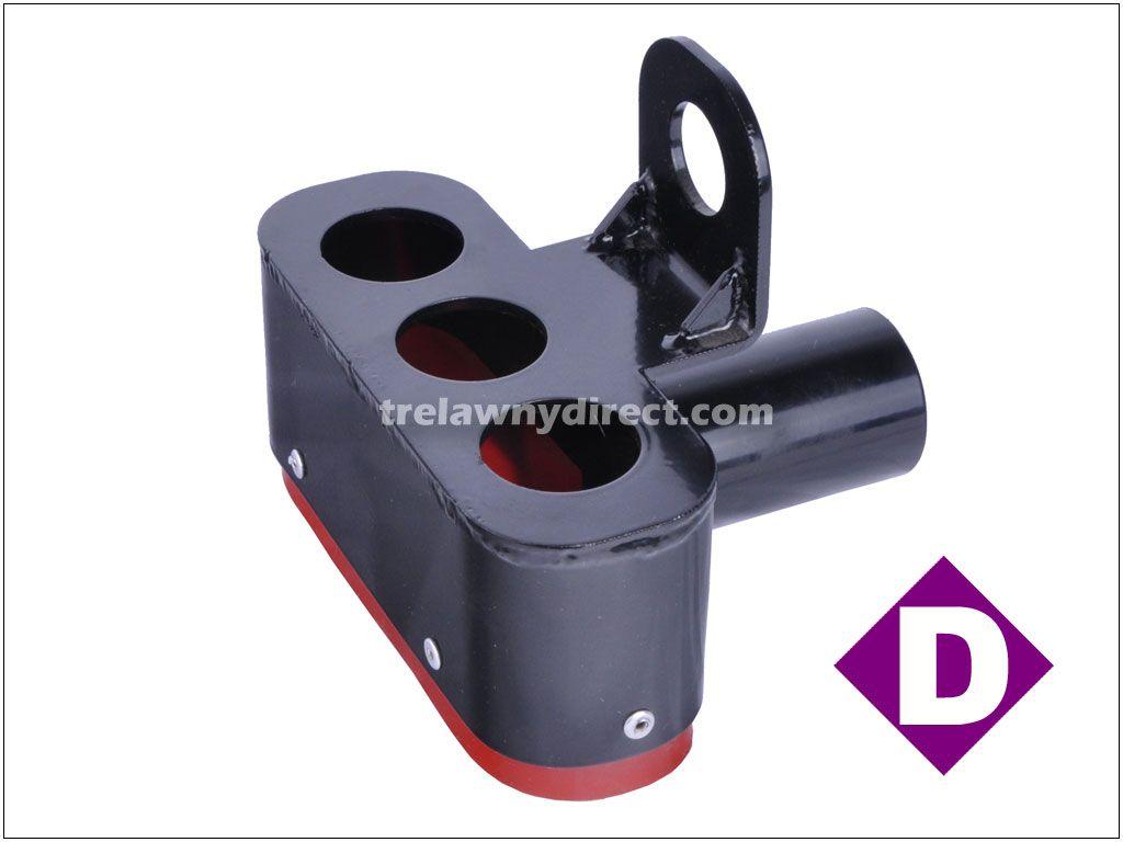 Trelawny 437.5300 TVS (Trelawny Vacuum System) Dust Shroud for Triple Head Scabbler