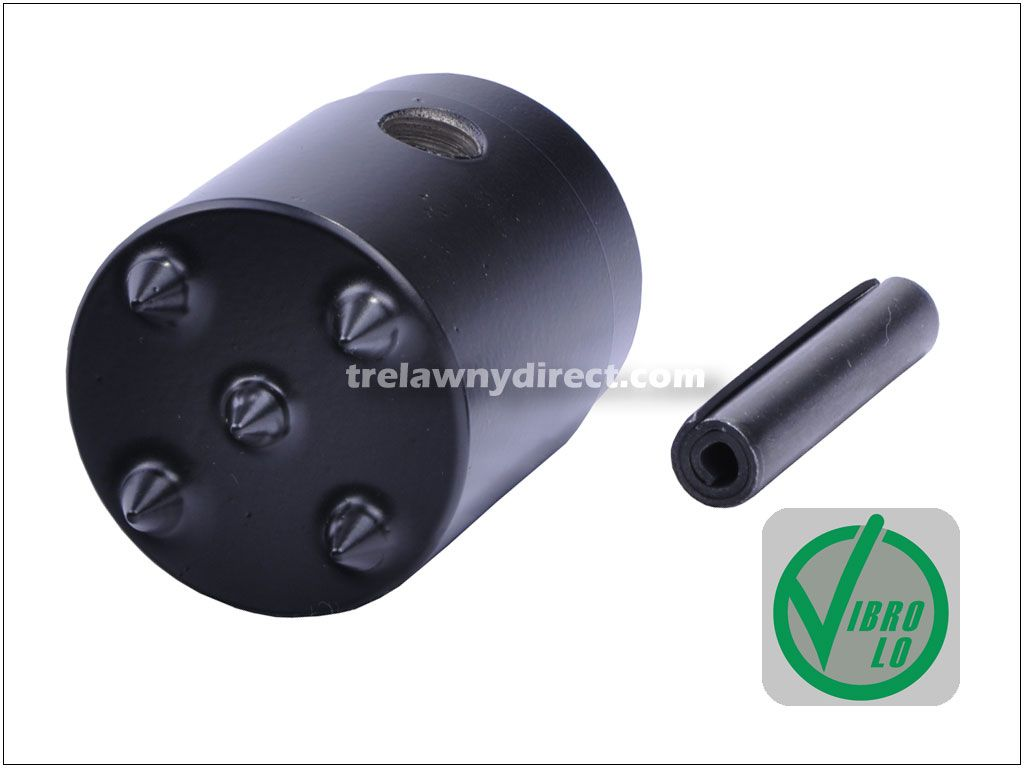 Trelawny 5 Point TCT Tip Scabbler Head, including Roll Pin. For MHS5 Floor Scabbler and VL LRS55 Pole Scabbler. 441.5359