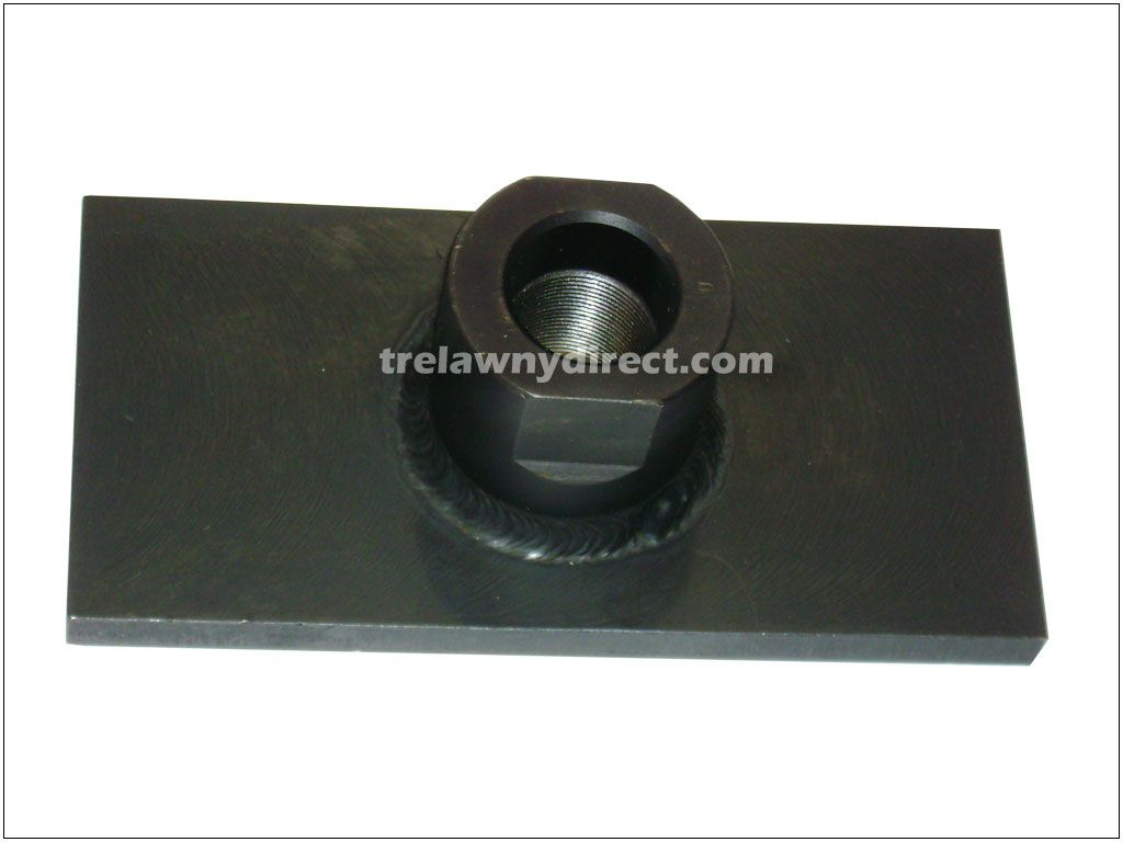 Trelawny 450.5016 Tamper Foot 100mm x 200mm for VL Pole Tamper