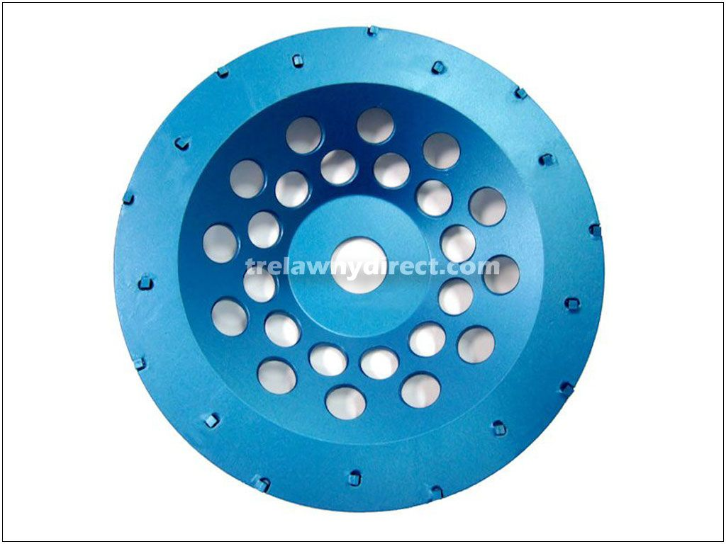 Trelawny 125mm (5'') PCD Cup Disc for TCG125 Grinders