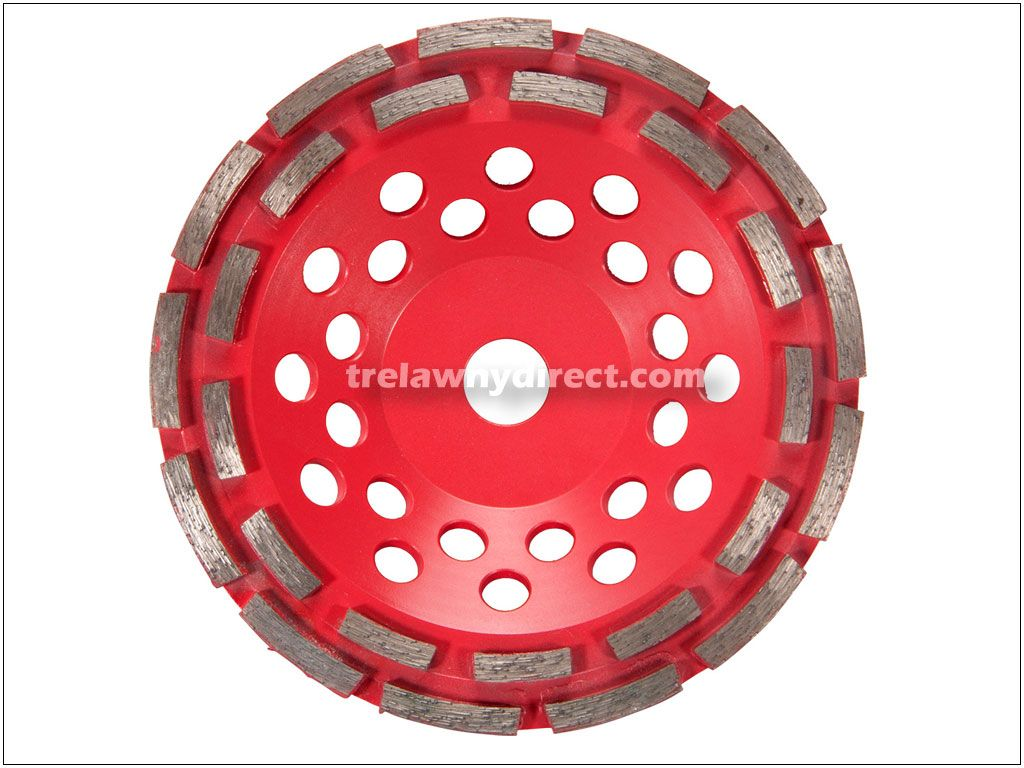 Trelawny 180 mm (7'') Double Row Cup Disc for TCG80 Grinders