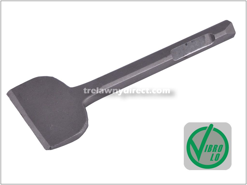 Trelawny Chisel - 2 1/2 inch Blade x 7 inch Long (64mm x 178mm) 1/2 inch (12mm) Square Shank 704.3103. For use with low vibration VL series chisel scalers.