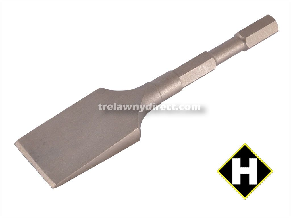 Trelawny Chisel - 2 inch Blade x 8 inch Long Alu-Bronze (Non-Spark) 705.1100 for all Long Reach Scalers