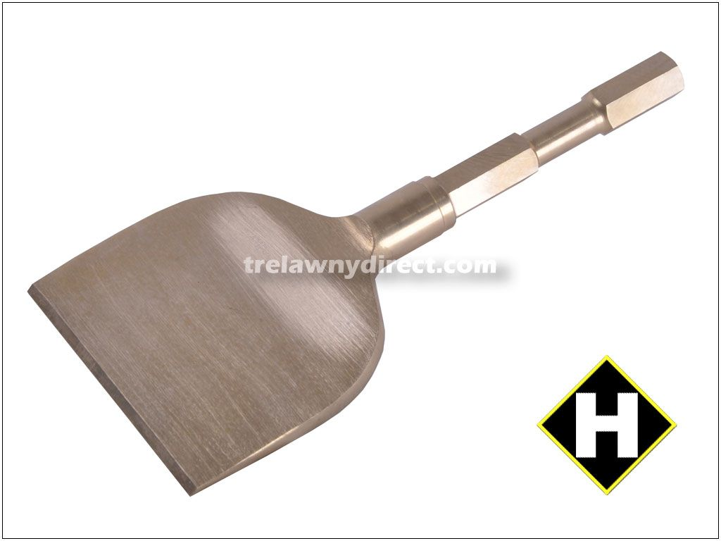Trelawny Chisel - 4 inch Blade x 8 inch Long Alu-Bronze (Non-Spark) 705.1112 for all Long Reach Scalers
