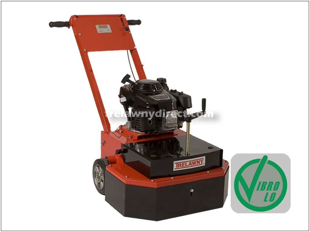 Trelawny 350.2000AD TCG500 Floor Grinder 5.5hp Petrol fitted with 2 x 20 segment Diamond Grinding Discs