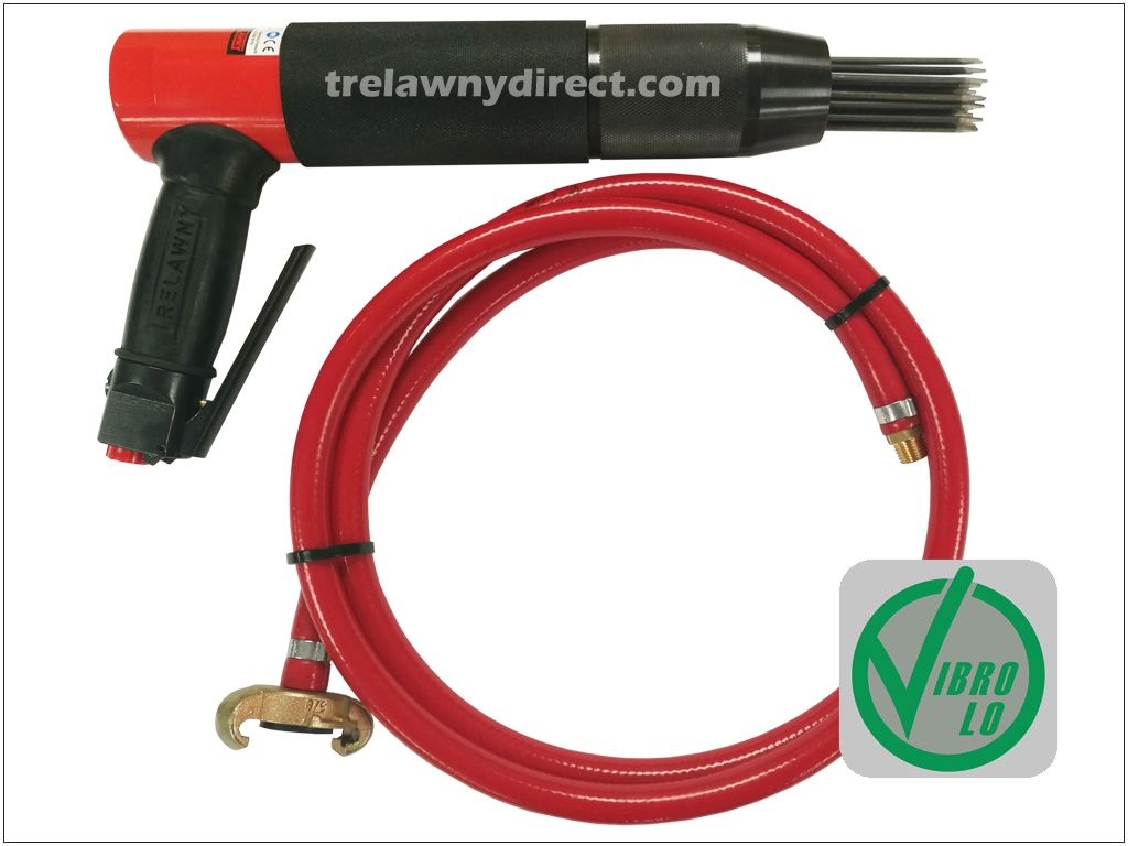 Trelawny VL303 Low Vibration Needle Scaler With Free 2 Metre Whip